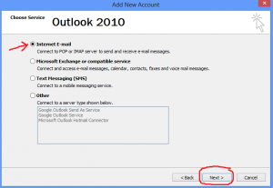 Figure 2 Outlook 2010